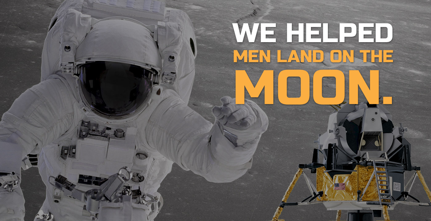 We helped men land on the moon | Oilgear
