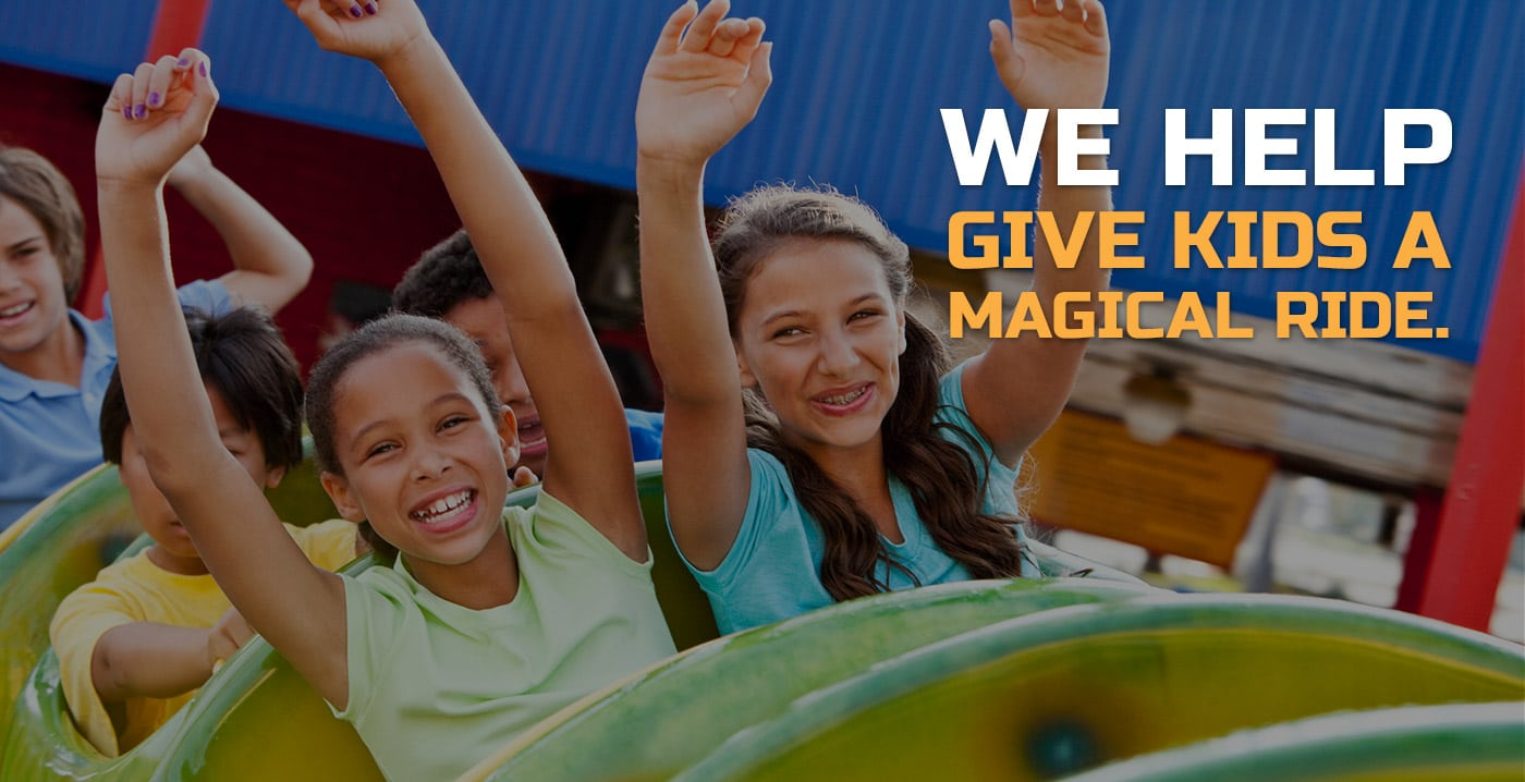 We help give kids a magical ride | Oilgear