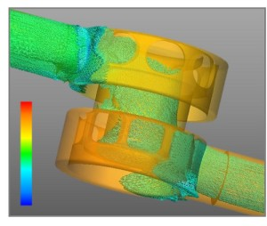 Oilgear CFD FEA Analysis Image