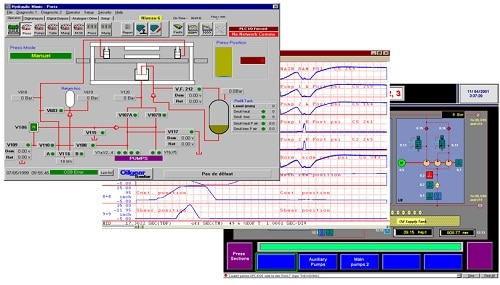 Oilgear Electrical Press Control System