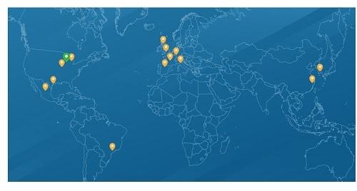 Oilgear Global Field Offices