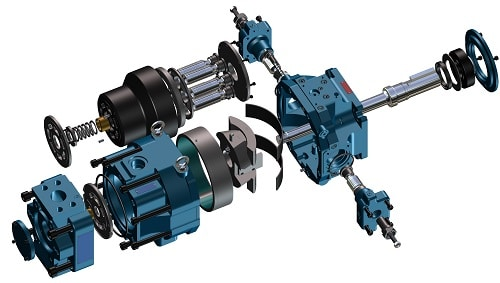 Oilgear_Variable_Axial_Piston_Pump_Exploded